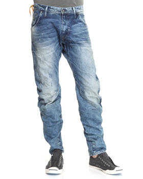 G-STAR - Arc medium aged tapered denim jeans