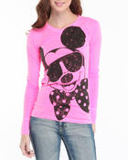 Women - Mickey Mouse Be Cool long Sleeve Tee