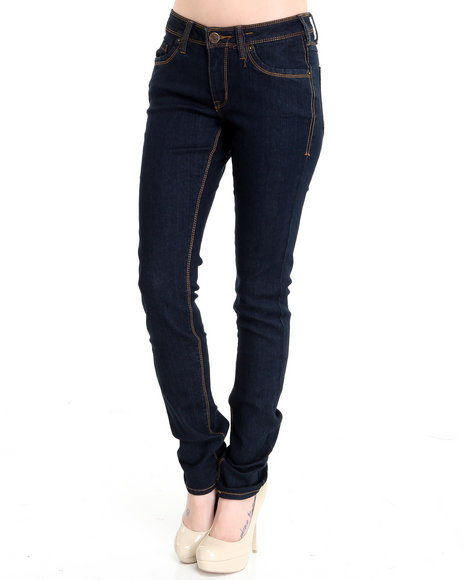 Basic Essentials Women Indigo Basic Skinny Jean Pants