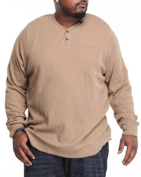 LRG Men Brown So Sensi L/S Thermal (B&T)