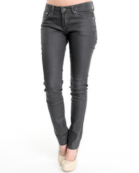 Basic Essentials - Coated basic skinny jean pants