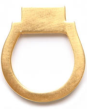 Kelacala Q - Gold Brick Ring