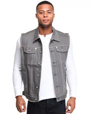 Vests - Billy Jack Denim Vest