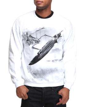 Buyers Picks - Skeleton Surfer Crewneck Sweatshirt