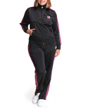 Ecko Red - Tracksuit set w/stripe detail (PLUS)