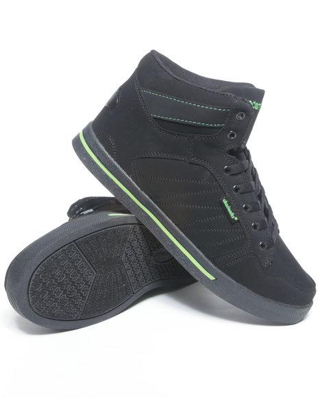 Akademiks Men Black Mud Guard Hightop Sneaker