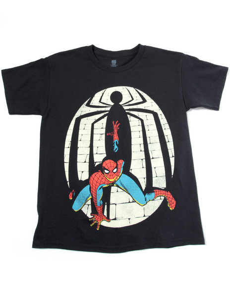 spiderman shadows tee (8-20)