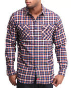 Rocawear - Fortress Plaid L/S Button-Down