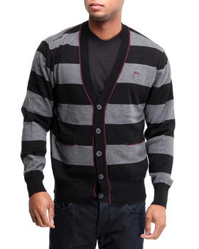 A Tiziano - Bret Striped Sweater Cardigan