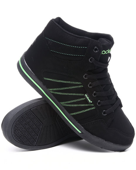 Akademiks Boys Lime Green,Black Zig Zag Sneaker (Youth)