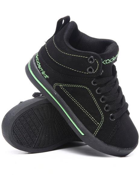 Akademiks Boys Lime Green,Black Mid Sneaker (Kids)