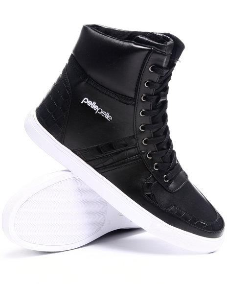 Pelle Pelle Men Black Pelle Wildcard Hightop Sneaker