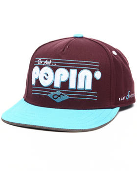 Flat Fitty - Popin Snapback Hat