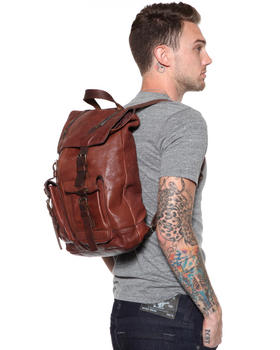 John Varvatos U.S.A. - Washed Leather Back Pack
