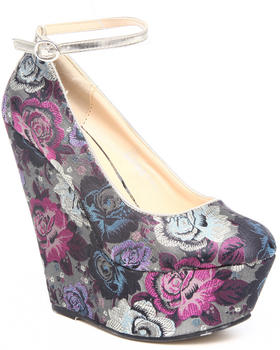 Fashion Lab - Torry wedge tapestry wedge