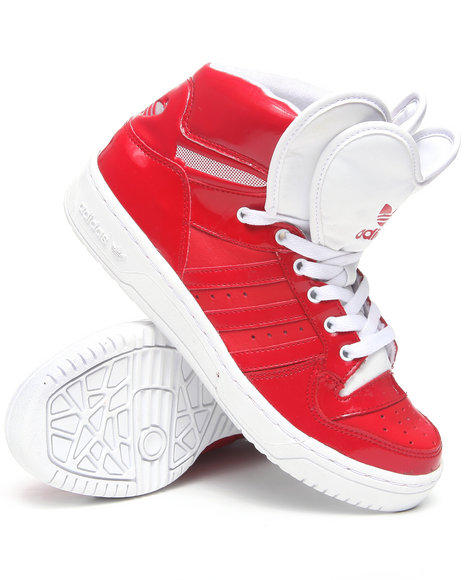 Adidas Women Red M Attitude Logo Heart W Sneakers