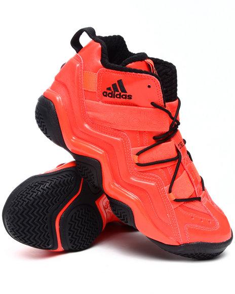 Adidas Men Red Top Ten 2000 Sneakers