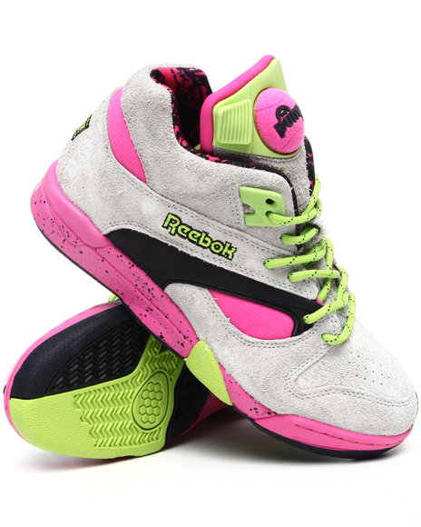 Reebok Men Multi Court Victory Pump Grizzly Sneakers