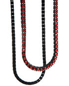 Hip Hop Accessories - CZ Single Row Chain