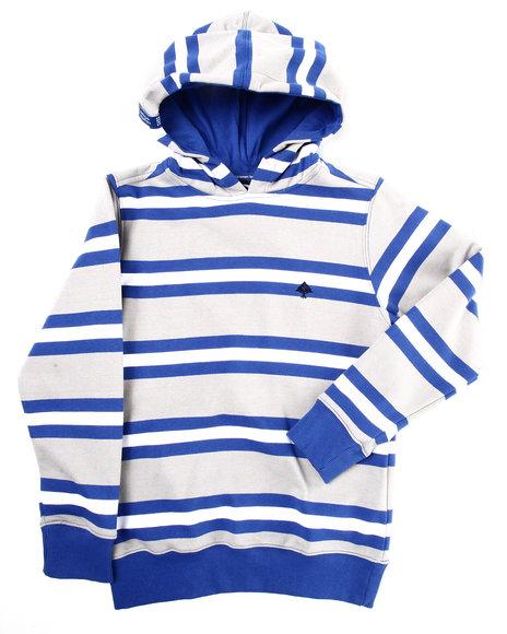 LRG Boys Light Grey No Tuition Pullover Hoody (8-20)