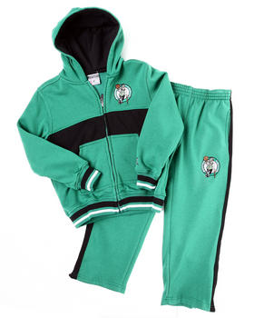 NBA MLB NFL Gear - CELTICS HOODED FLEECE SET (4-7)
