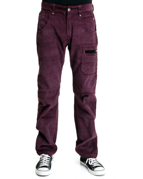 commet colored corduroy pant