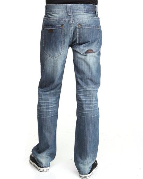 Pelle Pelle Men Blue Denim Co Jeans