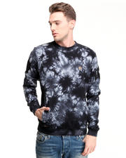 10.Deep - Take Out Tie Dyed Crewneck w/ Embroidered Detail