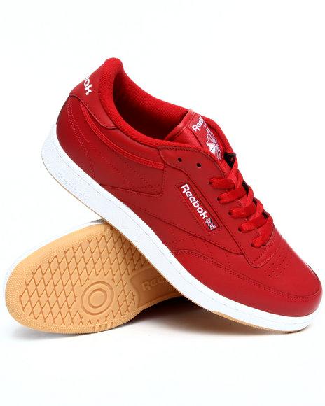 Reebok Men Red Club C Sneakers