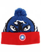 Hats - Captain America Biggie knit hat