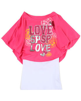 Southpole - Love 2-fer top (big girls)