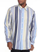 Nautica - Large Stripe Button Down Shirt