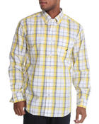 Nautica - Poplin Medium Plaid Button Down Shirt