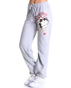 Graphix Gallery - Betty Boop French Terry Sweat Pants