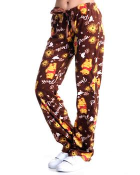 Graphix Gallery - Fleece Pooh Lounge Pants