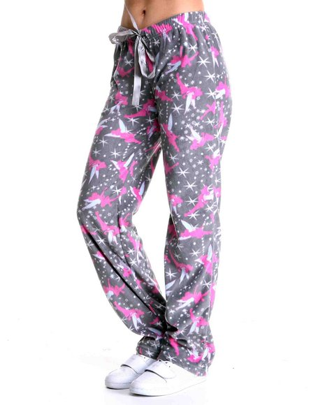tinkerbell fleece lounge pants