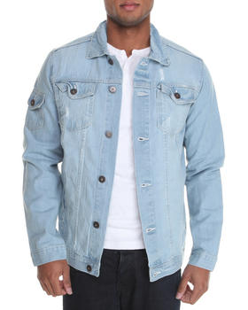 Basic Essentials - Destructed Denim Jacket