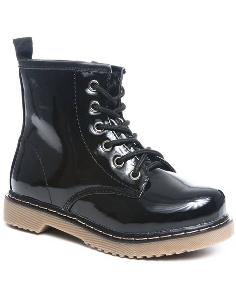 La Galleria - Girls Black Jane Boot (Youth)