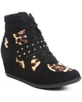Fashion Lab - Uko animal print sneaker