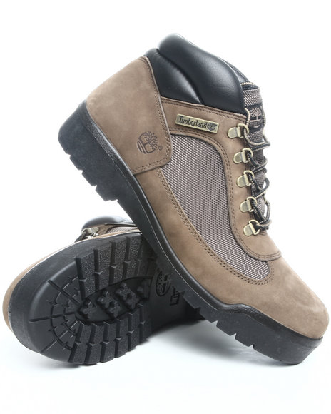Timberland Men Olive Timberland Field Boots