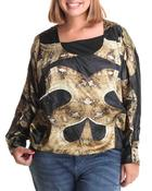 Plus Size - Snake Top (Plus)