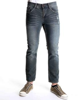 Basic Essentials - Tapered Fit Denim Jeans