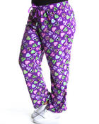 Plus Size - Mickey + Minnie Fleece Lounge Pants (plus)
