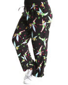 Plus Size - Tinker Bell Fleece Lounge Pants (plus)