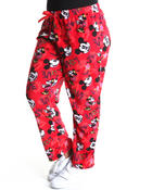 Plus Size - Mickey fleece lounge pants (plus)