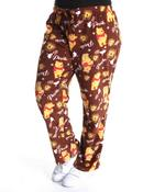 Plus Size - Fleece Pooh Lounge Pants