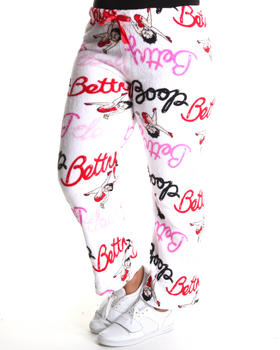Graphix Gallery - Betty Boop Plush Pants (Plus)
