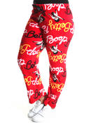 Plus Size - Betty Boop Plush Pants (Plus)