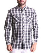 Men - Cheque Woven Shirt