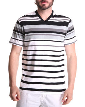 Southpole - Engineered Stripe V-Neck Tee